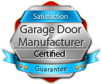 certified garage door repair and installation
