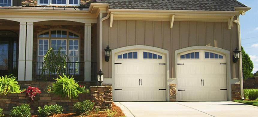 Doorlink 3640 Grooved Ranch Panel Open Up Garage Door Inc