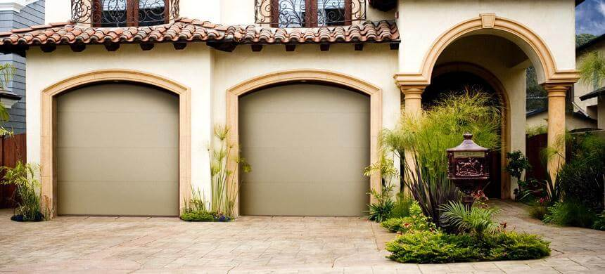 Flush Panel Garage Doors Open Up Garage Door Inc