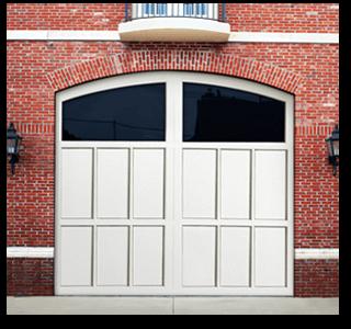 DOOR STYLES & Doorlink Mill Creek Aluminum Carriage Style Door - Open Up Garage ...