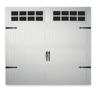 Doorlink 3640 grooved ranch panel open up garage door inc for Ranch house garage doors