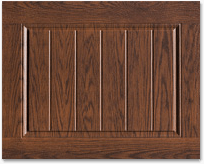 Doorlink 3640 Grooved Ranch Panel Open Up Garage Door