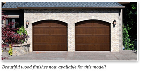 Doorlink 3640 Grooved Ranch Panel Open Up Garage Door