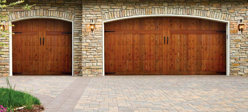Doorlink Woodland Creek Wood Overlay Doors Open Up