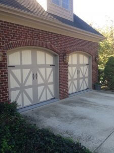 Double Garage Doors After