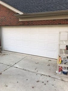 Carriage Garage Door Before
