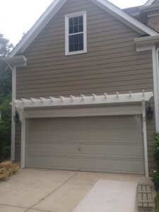 Steel Garage Door Before