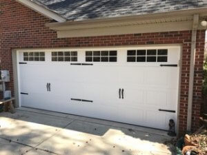 Carriage Garage Door After