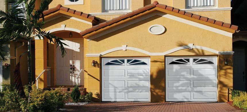 Thick Raised Ranch Panel Garage Doors